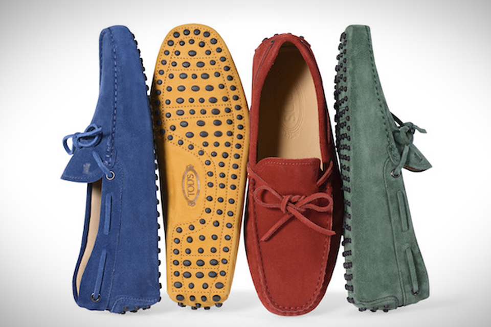 32ad892864a Customize Your Own Pair of Tod s Iconic Gommino Driving Shoes