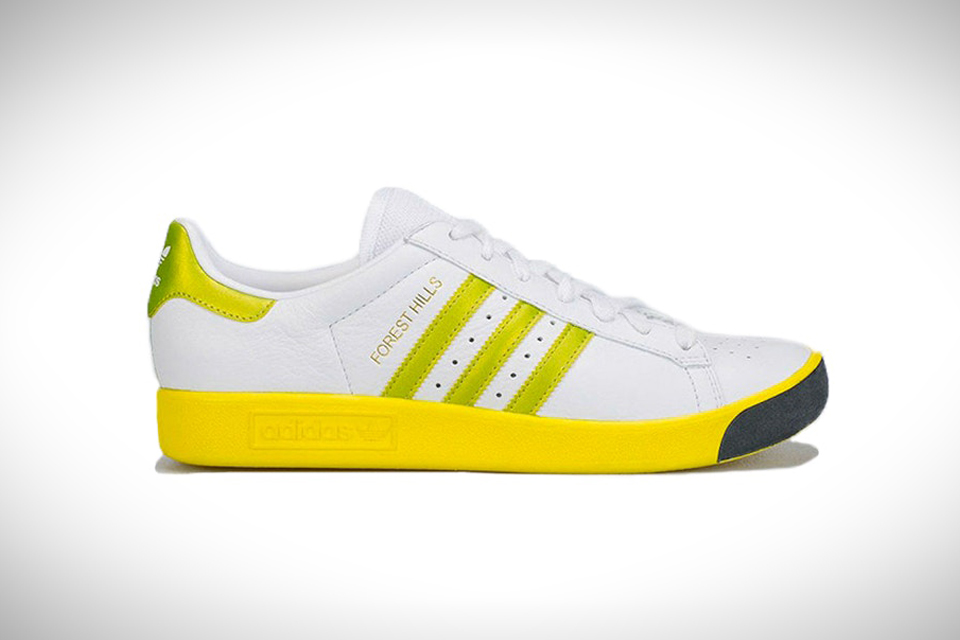 """timeless design 7e6c5 457c8 Adidas Originals Brings Back the Iconic """"Forest Hills"""" Tennis Shoe"""
