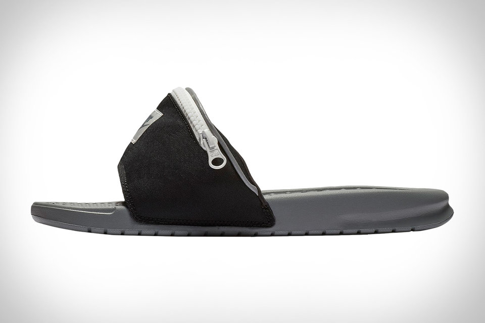 "7430550f6ee0cb Nike s New ""Fanny Pack"" Flip-Flops Make the Perfect Summer Stash Shoe"